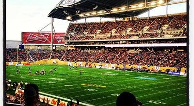 Photo of Football Stadium Investors Group Field at 315 Chancellor Matheson Rd, Winnipeg, MB R3T 1Z2, Canada