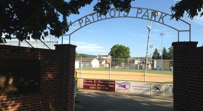 Photo of Baseball Field Patriot's Park at 1027 W Wyoming St, Allentown, PA 18103, United States