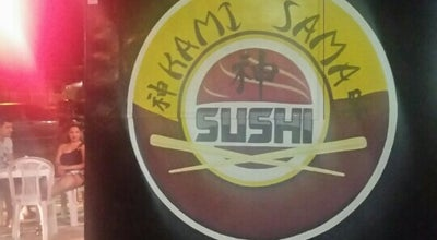 Photo of Sushi Restaurant Kami Sama Sushi at Rua Ubaldo Figueira, Santana, AP, Brazil