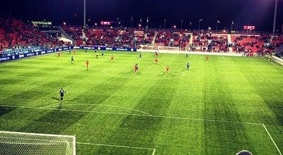 Photo of Soccer Stadium BMO Field at 170 Princes Blvd., Toronto, ON M6K 3C3, Canada