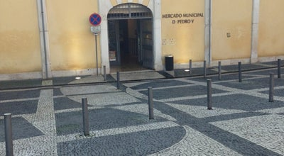 Photo of Tourist Attraction Mercado Municipal D. Pedro V at Rua Olímpio Nicolau Rui Fernandes, Coimbra 3000-303, Portugal
