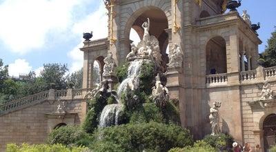 Photo of Monument / Landmark Cascada Monumental at Parc De La Ciutadella, Spain