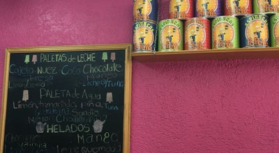 Photo of Dessert Shop Paletas Popeye at Parque El Llano, Oaxaca, Mexico