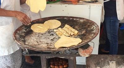 Photo of Taco Place Tacos de Chorizo del Carmen Alto at Oaxaca 68000, Mexico
