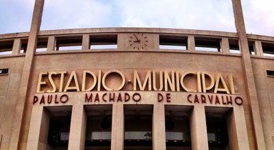 Photo of Soccer Stadium Estádio Municipal Paulo Machado de Carvalho (Pacaembu) at Pç. Charles Miller, S/n, São Paulo 01234-900, Brazil