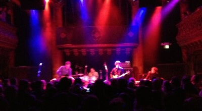 Photo of Rock Club Great American Music Hall at 859 O'farrell St, San Francisco, CA 94109, United States