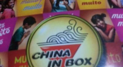 Photo of Chinese Restaurant China in Box at R. Sta. Josefa, Limeira 13480-732, Brazil