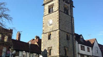 Photo of Historic Site St Albans Clock Tower at High St, St Albans AL3, United Kingdom