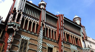 Photo of Monument / Landmark Casa Vicens at C. Carolines, 18-24, Barcelona 08012, Spain