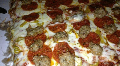 Photo of Pizza Place Albano's Villa at 1612 Franklin St, Michigan City, IN 46360, United States