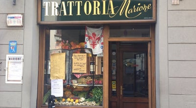 Photo of Italian Restaurant Trattoria Marione at Via Della Spada 27r, Florence 50123, Italy