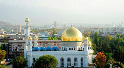 Photo of Mosque Алматы орталық мешiті / Центральная мечеть Алматы at Ул. Пушкина, 16, Алматы, Kazakhstan