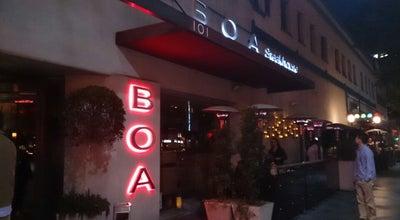 Photo of Steakhouse BOA Steakhouse at 101 Santa Monica Blvd, Santa Monica, CA 90401, United States
