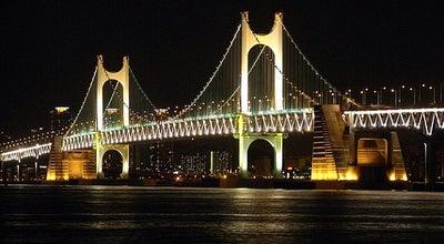 Photo of Bridge 광안대교 (Gwangan Bridge) at 수영구 광안대로, 부산광역시, South Korea