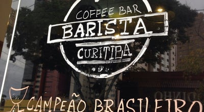 Photo of Coffee Shop Barista Coffee Bar at R. Moysés Marcondes, 357, Curitiba 80030-410, Brazil