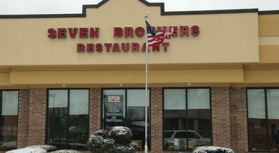 Photo of Diner Seven Brothers Restaurant at 9300 Waukegan Rd, Morton Grove, IL 60053, United States