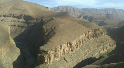 Photo of Scenic Lookout Gorges Du Dades at Morocco