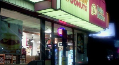 Photo of Donut Shop Dunkin Donuts/ Baskin Robbins at 2651 Cobb Pky Nw, Atlanta, GA 30339, United States