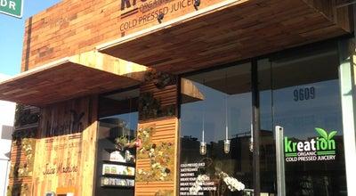 Photo of Juice Bar Kreation Kafe/Juicery at 9609 Santa Monica Blvd, Beverly Hills, CA 90210, United States