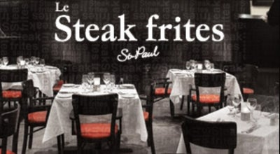 Photo of American Restaurant Le Steak Frites St Paul at 950 Boul. Séminaire N., Saint-Jean-sur-Richelieu, Qu J3A 1L2, Canada