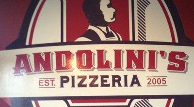 Photo of Pizza Place Andolini's Pizzeria at 12140 E 96th St N, Owasso, OK 74055, United States
