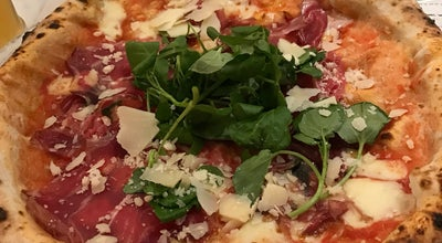 Photo of Pizza Place Franco Manca at Bishopsgate EC2M 2QS, United Kingdom