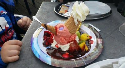 Photo of Ice Cream Shop Eiscafe Rialto at Bahnhofstraße 34, Tuttlingen 78532, Germany