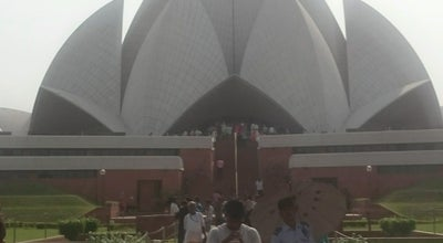 Photo of National Park Lotus Temple, New Delhi at India