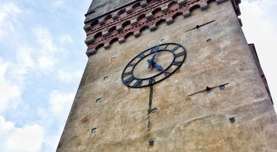 Photo of Monument / Landmark Torre Leon Pancaldo (Torretta) at Piazza Leon Pancaldo, Savona 17100, Italy