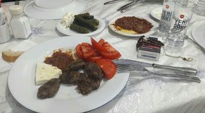 Photo of Beer Garden Derdim Restaurant / Tenekeciler at Ayvalık, Turkey