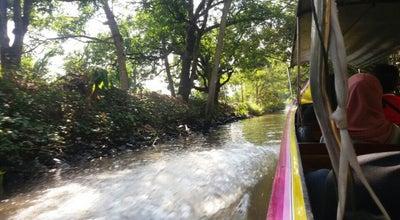 Photo of River Damnoen Floating Market at Thailand