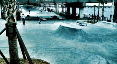 Photo of Skate Park Riverwalk Skate Park at 154 Waterfront Dr. W., Bradenton, FL 34205, United States