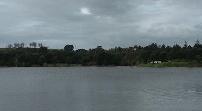 Photo of Lake Lake Rotomanu at Fitzroy, New Zealand