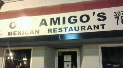 Photo of Mexican Restaurant Oyé Amigos at 307 E Michigan Ave, Marshall, MI 49068, United States