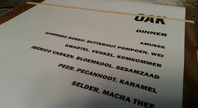 Photo of Belgian Restaurant Oak at Hoogstraat 167 / 001, Gent 9000, Belgium