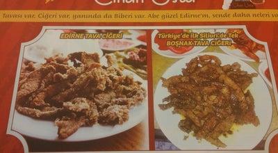 Photo of Steakhouse Cihan Usta Edirne Tava Ciğercisi at Piri Mehmet Paşa Mahallesi Atatürk Caddesi 13 Taksim1, Turkey
