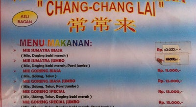 Photo of Chinese Restaurant Mie Sumatra Chang-Chang Lai at Pasir Mas Raya B.238, Semarang, Indonesia
