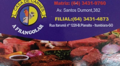 Photo of Steakhouse A Frangolar at Av. Santos Dumont, Itumbiara 75530-050, Brazil