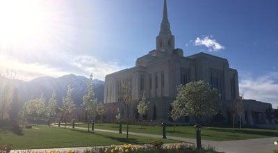 Photo of Church Ogden Utah Tabernacle at Ogden, UT 84401, United States