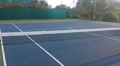 Photo of Tennis Court Quadra de tenis Clube Jundiaiense at Brazil