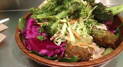 Photo of Fast Food Restaurant Maoz Vegetarian at 38 Union Sq E, New York, NY 10003, United States