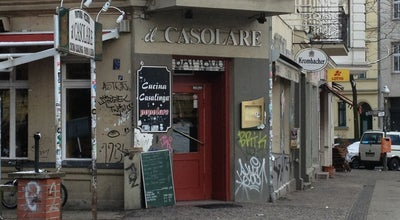 Photo of Italian Restaurant Il Casolare at Grimmstrasse 30, Berlin 10967, Germany