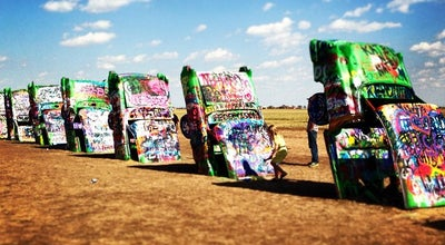 Photo of Public Art Cadillac Ranch at 2015 S. Dowell Rd, Amarillo, TX 79106, United States