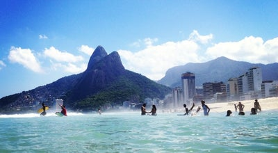 Photo of Beach Praia do Leblon at Av. Delfim Moreira, Rio de Janeiro, Brazil