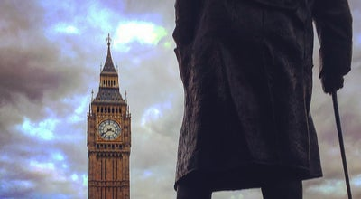 Photo of Monument / Landmark Winston Churchill Statue at Parliament Square, London SW1P 3BD, United Kingdom