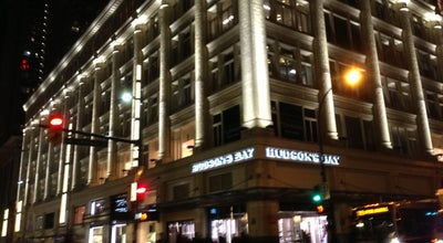 Photo of Department Store Hudson's Bay at 674 Granville St., Vancouver, BC V6C 3J3, Canada