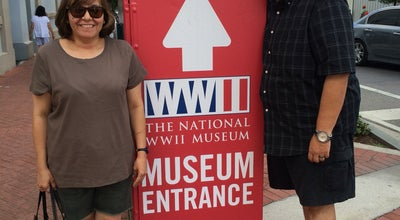 Photo of History Museum National World War II museum at 945 Magazine St, New Orleans, LA 70130, United States