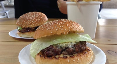 Photo of Burger Joint Bleecker St. Southbank at Under The Bridge  Riverside Level,, London SE1 8XX, United Kingdom