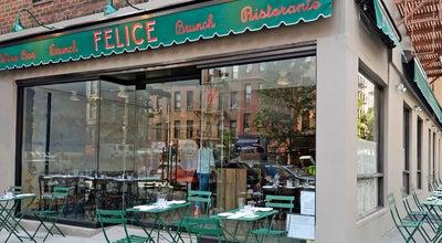 Photo of Wine Bar Felice 83 at 1593 1st Ave, New York, NY 10028, United States