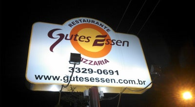 Photo of Pizza Place Gutes Essen at R. Mal. Deodoro, 202, Blumenau 89036-300, Brazil